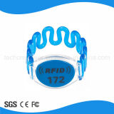 125kHz Wristbands do plástico dos Wristbands RFID