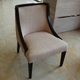 Изготовленный на заказ деревянные черные стул трактира рамки/мебель столовой