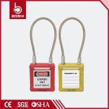 Het Hangslot van de Veiligheid van de Draad van de Uitsluiting van de Veiligheid van Brady BD-G41 met Sleutel gelijk of Sleutel verschilt