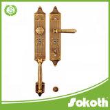 별장과 외부 문을%s 350mm로 큰 격판덮개에 있는 도매 아연 합금 손잡이 자물쇠 오래