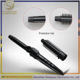 2017 calientes intercambiables Secador de pelo moldeador y planos de hierro la máquina y el cepillo de pelo Plancha