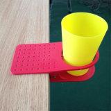Suportes de copo materiais do grampo do ABS plástico original e colorido da mesa da tabela de Customed da venda por atacado da fábrica do suporte de copo bebendo