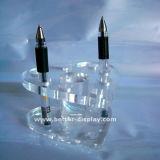 Ясный акриловый держатель пер органического стекла (BTR-H1013)