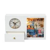 Horloge éducative en bois pour bricolage
