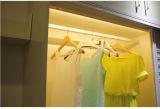 PIR elastischer Wandschrank Rod, LED-Garderoben-Licht der Batterie-LED