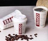 Tasse chaude tasse de café jetables