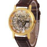 Relojes resistentes de la marca de fábrica de agua de la correa de la joyería de las mujeres del reloj de Watchlady de la muchacha