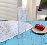 100ml jarro de vidro transparente com esmeril, Pimenta Mill, Moedor de sal