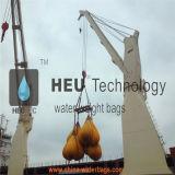 Teste da grua Saco de peso de água cheio de água