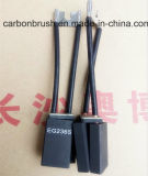 Escova de carbono para DC Motor Grade EG236S Made-in-China. Com