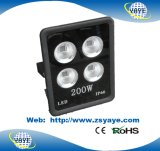 Yaye 18 lumières d'inondation chaudes de l'ÉPI 300W DEL du prix concurrentiel USD106.5/PC de vente/lumière extérieure de tunnel de DEL avec 3 ans de garantie