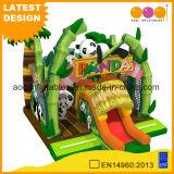 Panda paradis avec toboggan gonflable Combo (AQ01730)
