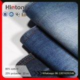 На заводе горячего продажи 10oz Slub Джинсовые ткани темно-синий брюки Жан ткань