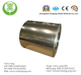 Bobine en acier galvanisée plongée chaude de la pente Z100 de Dx54D pour des constructions