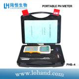 Ensemble de la vente de haute précision Testeur de pH numérique portable (PHB-4)
