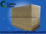 PVC muebles del gabinete de Uso Junta de PVC blanca