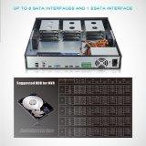 4K H. 265 64CH 통신망 기록병 지원 48tb