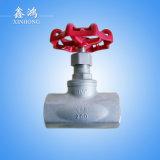 """Valvola di globo dell'acciaio inossidabile 304 Dn40 1-1/2 """" fatto in Cina"""