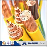 Collegare elettrico solido isolato PVC di rame di memoria del fornitore 1.5mm della Cina singolo
