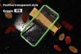 De nieuwe Uiterst dunne Gekleurde Transparante Waterdichte Dekking van de Bescherming voor iPhone