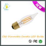 C30 при свечах под руководством лампой накаливания светодиодные лампы строки Рождество лампа
