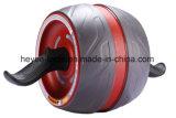 Rolo da roda do Ab - por Potência Orientação - o melhores equipamento da aptidão & exercício do núcleo - com borracha Non-Slip inovativa, a almofada de joelho grossa extra & os apertos da espuma do conforto