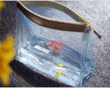 De eenvoudige Zak van pvc van de Stijl Dikke Duidelijke Waterdichte kosmetische voor de Verpakking van de Reis