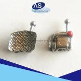 L'auto ortodontico che lega il metallo inquadra le parentesi 12345hooks del metallo dei fornitori con l'alta qualità come-Ortodontica