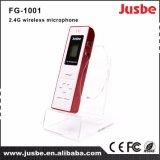 Microfone Handheld sem fio de Fg-1002 Hotsale 2.4G para professores