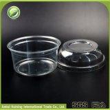 copo plástico descartável da salada da fruta 330ml