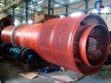 Impianto di lavaggio di lavaggio del crivello a tamburo dello stagno alluvionale per il progetto di estrazione mineraria dell'Africa