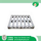 Pálete de alumínio em dois sentidos para o armazenamento do armazém com Ce por Forkfit