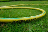 Boyau de jardin tressé de PVC de fibre non toxique