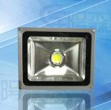 Lámpara blanca caliente 50W de la Proyecto-Luz de la lente del paisaje del reflector de IP65 LED