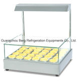 Boulangerie / Magasin / Restaurant Stainelss Steel Hot Egg-Tart Showcase Bg-210