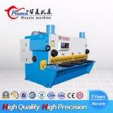 Máquina de corte da guilhotina hidráulica de QC11k, melhor que vende a máquina de corte da guilhotina de 16mm