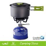 Stufa esterna di campeggio del butano del gas del cuoco di picnic della testa della stufa di gas del propano