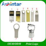 소형 USB 섬광 드라이브 Customed USB 기억 장치 Thumbdrive 금속 발 USB 지팡이
