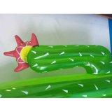 Поплавки игрушки бассеина воды кактуса донута фламингоа единорога кольца заплывания раздувные