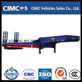 Cimc 2 мост 30 тонн низкая кровать Полуприцепе