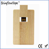 USB de madeira do cartão (XH-USB-012W)