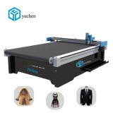 Hot Sale Auto-Feeding matériel Tissu Tissu coupe CNC Machine de découpe en cuir pour l'industrie du vêtement