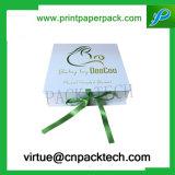 Contenitore di carta di regalo decorativo dell'imballaggio del cartone del quadrato di favore di cerimonia nuziale