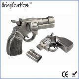 Lecteur flash USB (XH-USB-039) de mémoire de modèle de canon de pistolet