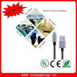 varón del relámpago 8-Pin al cable del varón del USB 2.0 para el iPhone