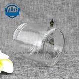 commestibile 450ml trasparente, vaso cilindrico e largo di vetro di memoria della bocca