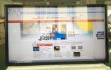 Fissato al muro 65 pollici tutti in un chiosco infrarosso dello schermo di tocco