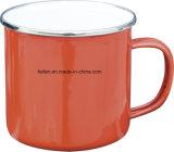 Taza/taza calientes del esmalte de la venta inconsútil con la cubierta