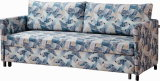 Precioso futon sofa cama Cum tejido mentir