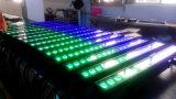DMX RGBW 18x12W LED de la barra de luz LED bañador de pared